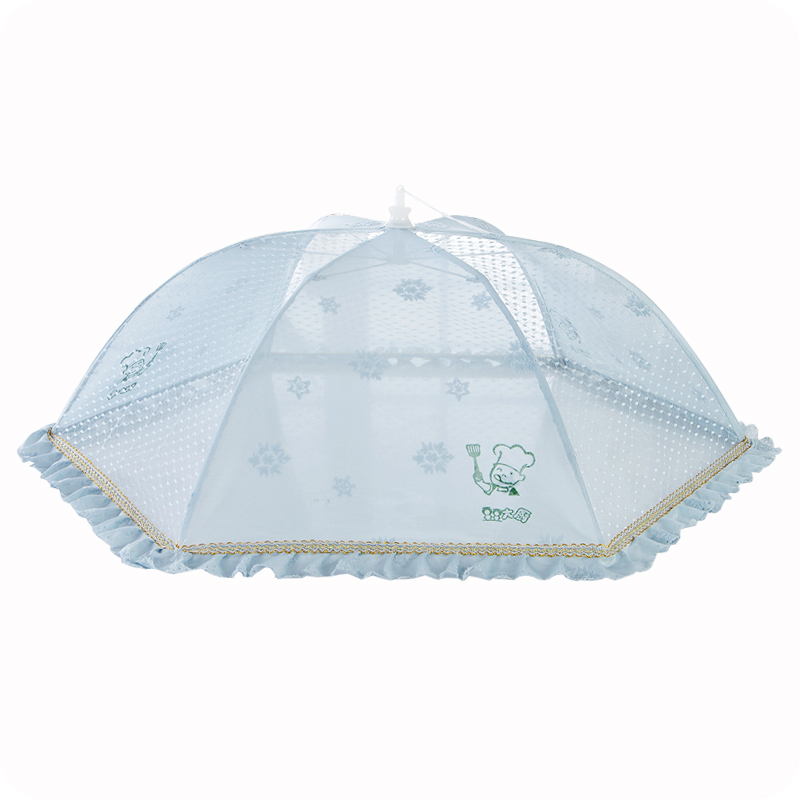Collapsible mesh umbrella food tent food cover