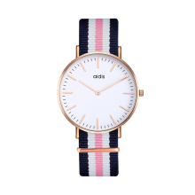 Fashion Leather Nylon Hand OEM ODM Custom LOGO Wrist Watches Wholesale Watch For Girl