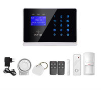 Wireless GSM Alarm home Automation Security System with RFID card and Touch Keypad