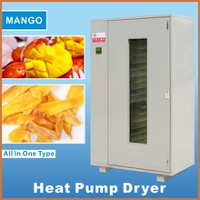 New condition heat pump fruit vegetable drying oven grapes dehydration dryer raw cassava drying machine