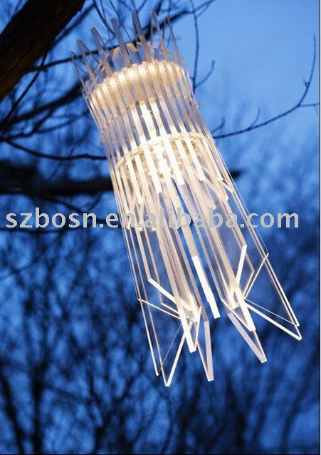 Acrylic Pendant Light,Plexiglass Reading Lamp,Lucite Table Lamp