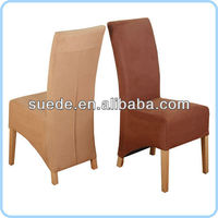 chair seat cover fabric for suede fabric