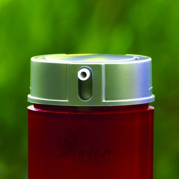 50ml red color airless bottle