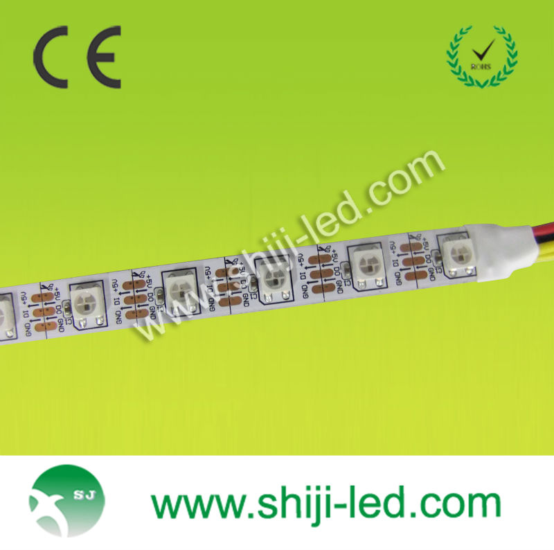 madrix led software 5m/roll ws2811 music control dmx digital led strip ws2812b led pixel strip