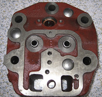 Farm tractor spare parts cylinder head for diesel engine