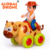 HUILE 366-X Baby toy 5 options pull back cartoon car toy go fiction power animal cars for baby gift fun toy