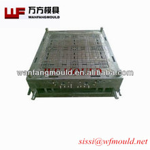 recycle HDPE plastic injection pallet mold, polystyrene plastic injection molding