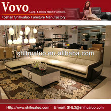 sofa cowhide leather F-3117