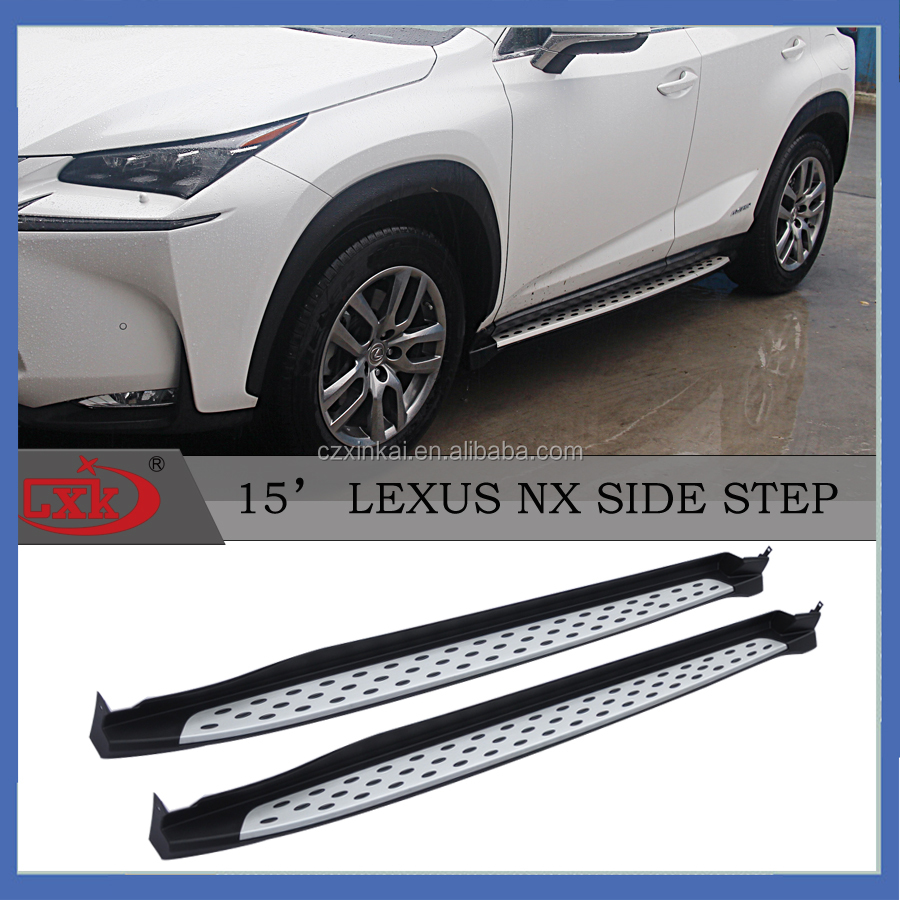 Auto accessories Aluminum Running board/side step for LEXUS NX from china suppliers