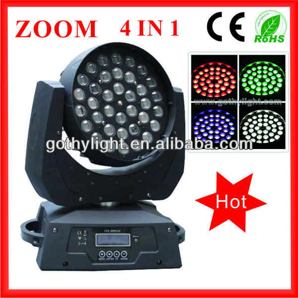 CE ROHS 360W ZOOM Wash Strobe Moving Head light