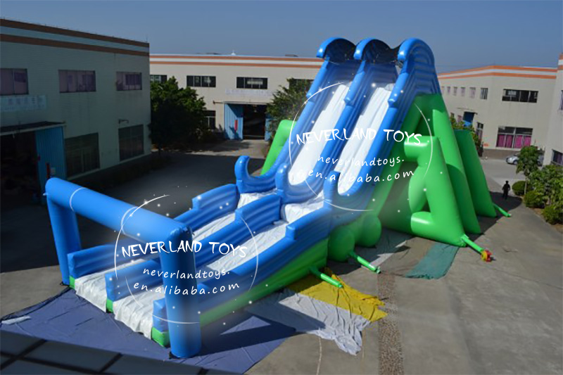 Hot selling outdoor activity 5k insane giant inflatable obstacle course for sale