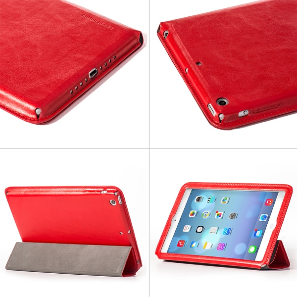 HOCO Armor Series Foldable Stand Flip Leather Case for iPad Mini 2 Retina