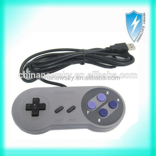 High quality wired USB game controller for Nintendo SNES