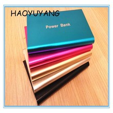 Smartphone Ultrathin Metal Partable Charger Power Bank 4000mAh Power Bank External Battery LED Indication