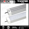 ETL DLC 4ft 60w, 100w led tri-proof light, LED vapor tight light