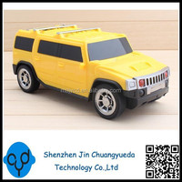 Rechargable Hummer USB Portable Mini Car Speakers