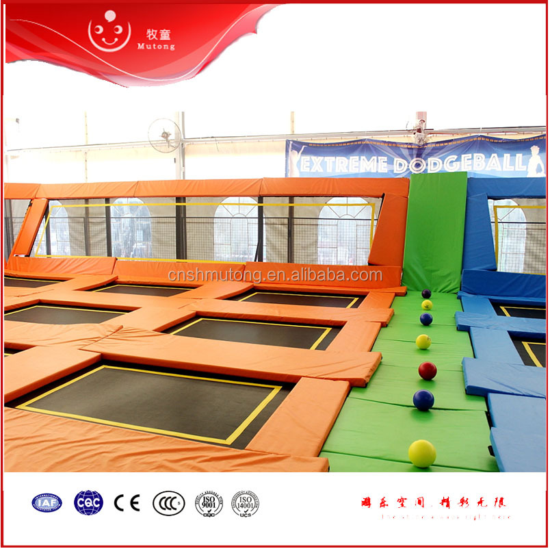 Cheap Trampoline Fabric Indoor Jumping Trampoline for Trampoline Park Adults & Children
