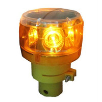 Hot Sale solar traffic safety led road cone flashing light with nail