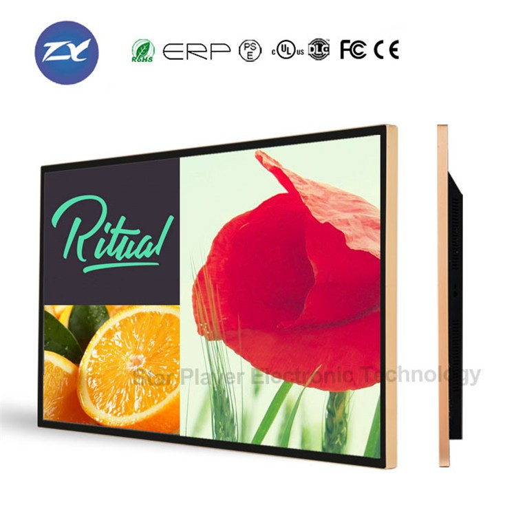 China OEM Star Player 32 inch elevator TV monitor LCD/LED wall mounted advertising screen