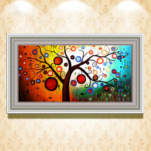 wall decorations art picture abstract pictures of trees canvas painting