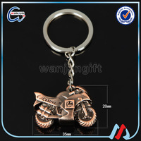 Custom Women's motorcycle keychain push-bike keychain