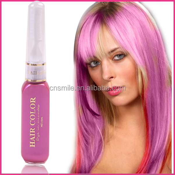 Crazy hot temporary hair color mascara glitter hair mascara for hair