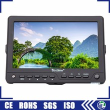 Portable cheap price dc powered small 1080P tft 7 inch full hd dslr lcd monitor