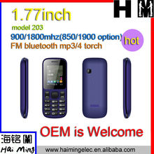 5.5 USD MOQ 3000PCS dual sim dual standby mobile phone model 103