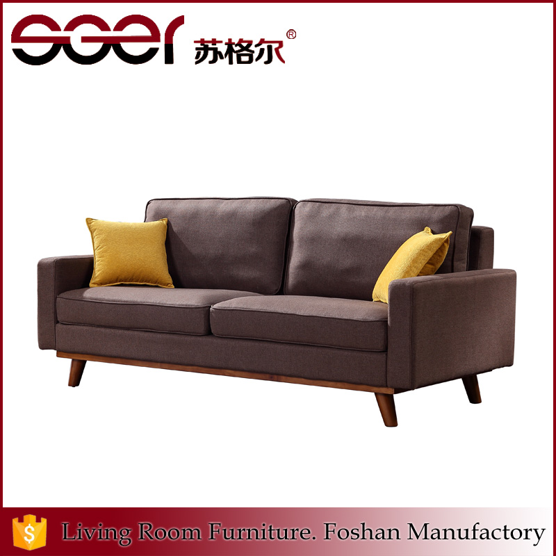 Steel wood frame fabric designs set furniture living room