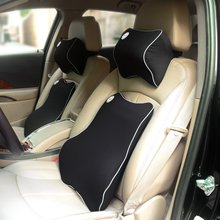 Hot sale car memory foam lumbar cushion