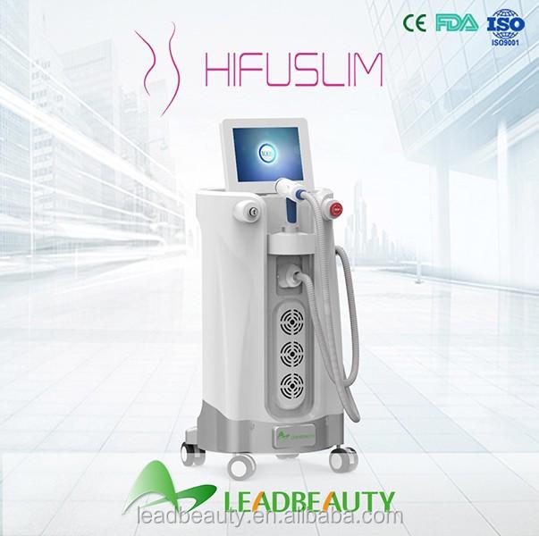 2015 most popular fat reduce new hifu high intensity focused ultrasound slimmimg machine