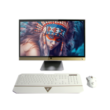 "23.6"" inch Intel I7 CPU linux windowns os oem All-In-Ones Desktops pc with touch screen"
