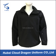Warmly winter police security guard waterproof jacket mens