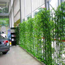 Outdoor decoration Plastic material dry Artificial bamboo