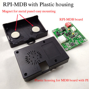 Raspberry Pi to MDB cashless payment adapter for vending machine connect Raspberry pi RS232 for mobile payment