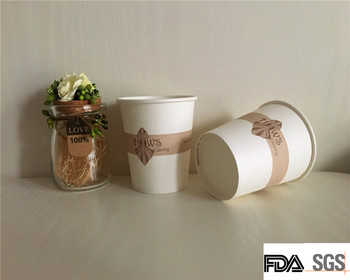 free sampels top quality disposable custom coffee paper cups