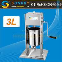 High speed hot selling used sausage making tying machine stuffer manual with Low Price
