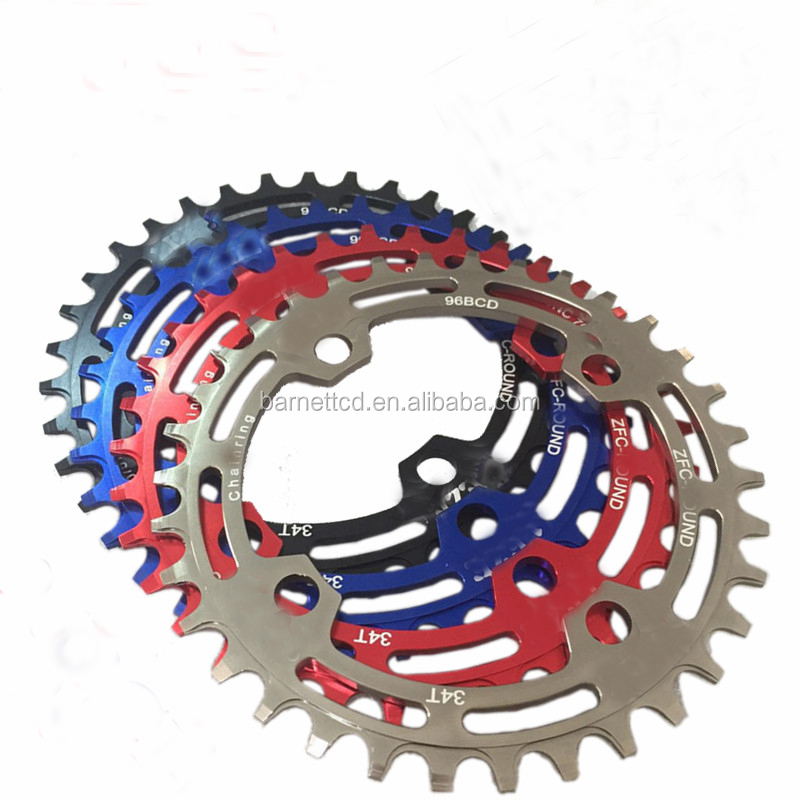Good Quality Colorful Bicycle Chain Sprocket Lightweight Mountain Bike Parts