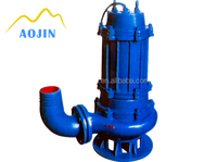 electric motor driven 3hp submersible pump slurry pump