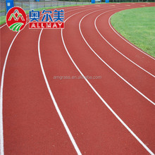 13mm Red Color Synthetic Rubber Althletic Running Track