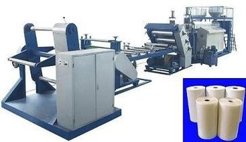 Rigid film extruder