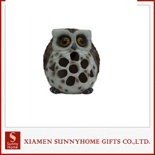 Lastest Owl Lighted With Solar Light For Garden Decoration