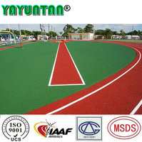 Rubber outdoor playground flooring