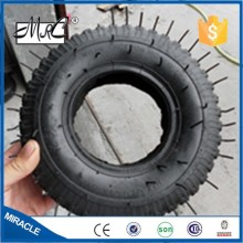 Heavy duty pneumatic go cart wheel wagon tyre rubber small wheelbarrow tire 2.80/2.50-4