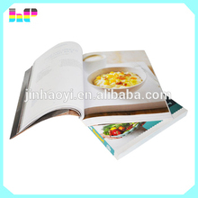 2016 cheap cookbook/ hardcover recipe book printing/softcover cook book printing