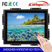 Cool design industrial touchscreen lcd monitor with best service