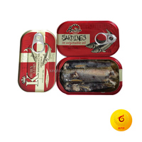 Offer canned whole sardines with soybean oil