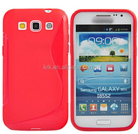 Soft TPU Gel S line Skin Cover Case For Samsung Galaxy Win Duos i8550 i8552