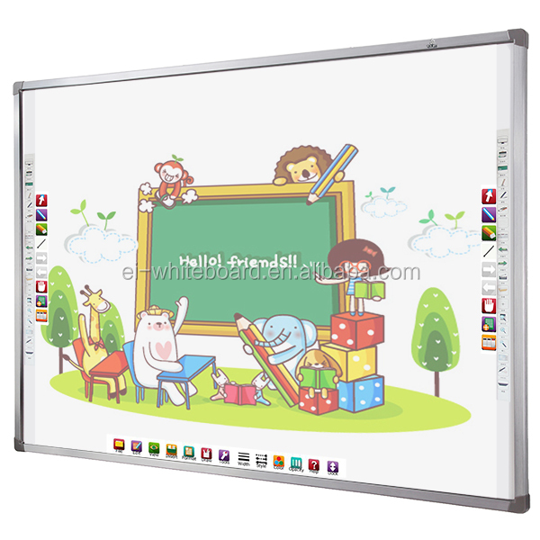 China cheap whiteboard supplies , portable interactive whiteboard and projector for sale
