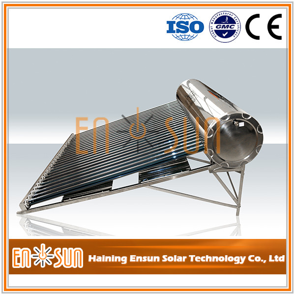 Non-Pressure Quality-Assured Solar Water Heater Stainless Steel